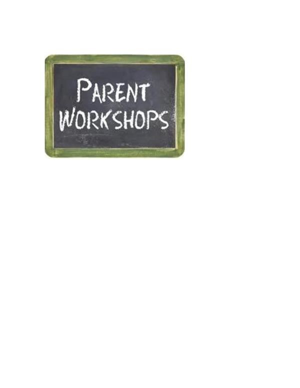 Parent Workshops Flyer