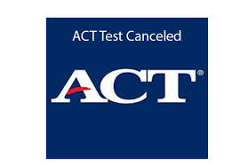 ACT Testing scheduled for June 13 has been cancelled at NAHS.