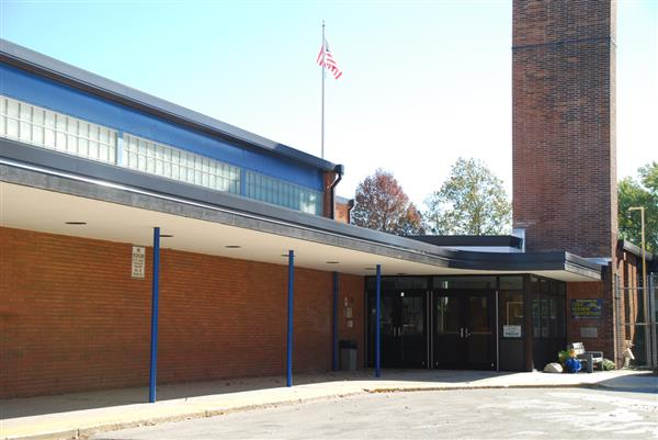 Cole Manor Elementary School Main Entrance