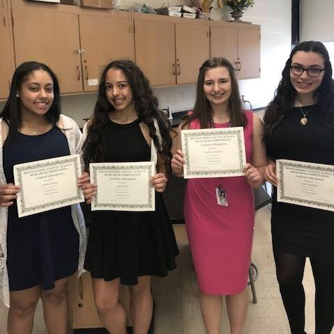 Norristown Area High School Students Receive Awards at  Montgomery County Regional Science Fair